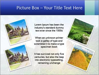 Beautiful Yu Long river PowerPoint Template - Slide 24