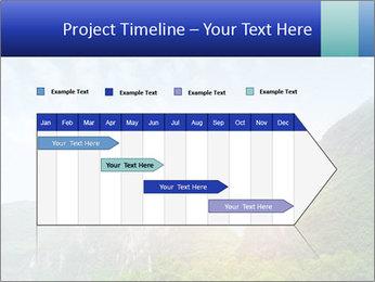 Beautiful Yu Long river PowerPoint Template - Slide 25
