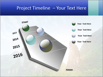 Beautiful Yu Long river PowerPoint Template - Slide 26