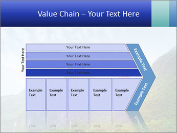 Beautiful Yu Long river PowerPoint Template - Slide 27