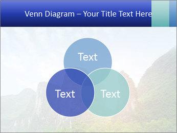 Beautiful Yu Long river PowerPoint Template - Slide 33
