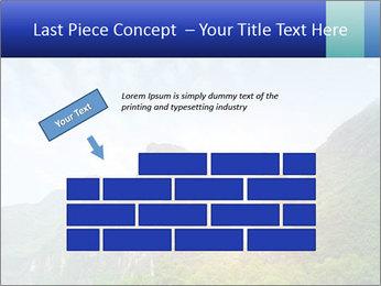 Beautiful Yu Long river PowerPoint Template - Slide 46