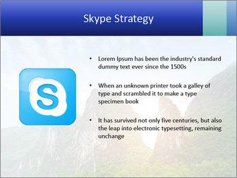 Beautiful Yu Long river PowerPoint Template - Slide 8