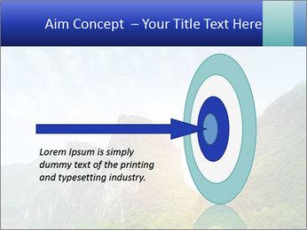 Beautiful Yu Long river PowerPoint Template - Slide 83