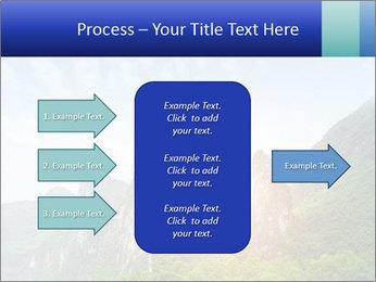 Beautiful Yu Long river PowerPoint Template - Slide 85