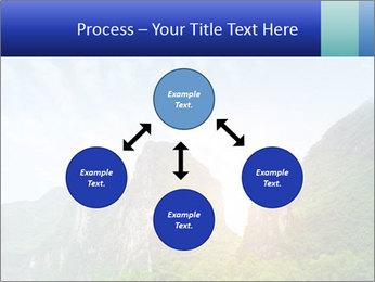 Beautiful Yu Long river PowerPoint Template - Slide 91