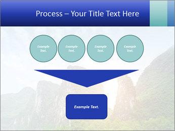 Beautiful Yu Long river PowerPoint Template - Slide 93