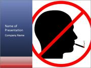 A graphic warning PowerPoint Template