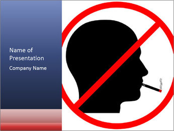 A graphic warning PowerPoint Templates - Slide 1
