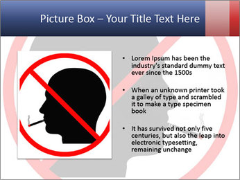 A graphic warning PowerPoint Template - Slide 13
