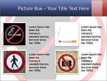 A graphic warning PowerPoint Template - Slide 14