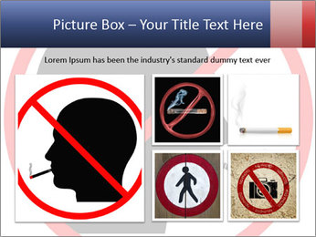 A graphic warning PowerPoint Template - Slide 19