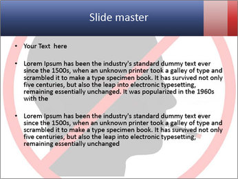 A graphic warning PowerPoint Templates - Slide 2