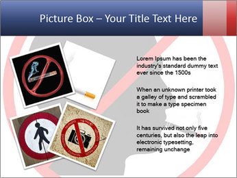 A graphic warning PowerPoint Template - Slide 23