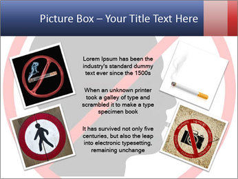 A graphic warning PowerPoint Template - Slide 24
