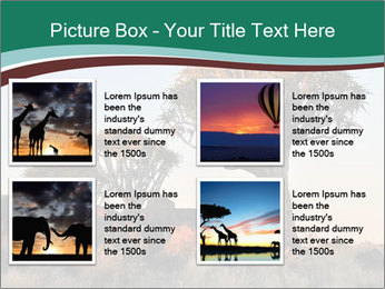 Sunrise at Forest PowerPoint Templates - Slide 14