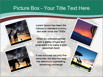 Sunrise at Forest PowerPoint Templates - Slide 24