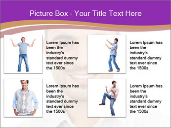 Smiling man PowerPoint Template - Slide 14