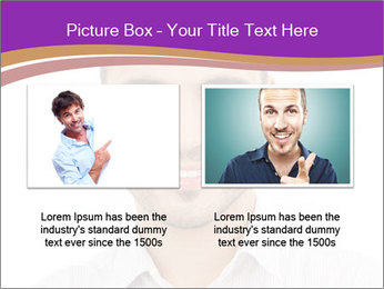 Smiling man PowerPoint Template - Slide 18