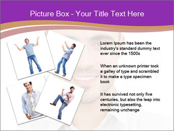 Smiling man PowerPoint Template - Slide 23