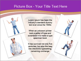 Smiling man PowerPoint Template - Slide 24