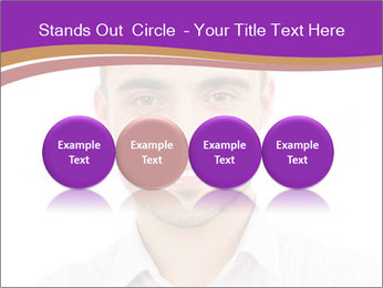 Smiling man PowerPoint Template - Slide 76