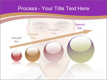 Smiling man PowerPoint Template - Slide 87