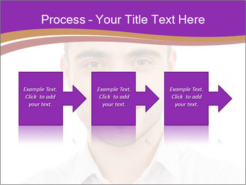 Smiling man PowerPoint Template - Slide 88