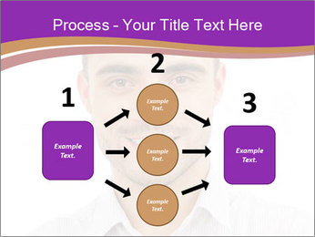 Smiling man PowerPoint Template - Slide 92