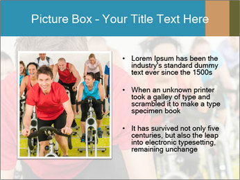 People in gym PowerPoint Templates - Slide 13