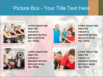 People in gym PowerPoint Templates - Slide 14