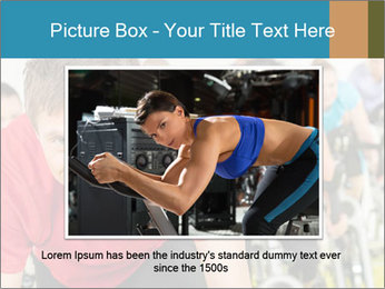 People in gym PowerPoint Templates - Slide 16