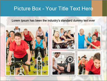 People in gym PowerPoint Templates - Slide 19