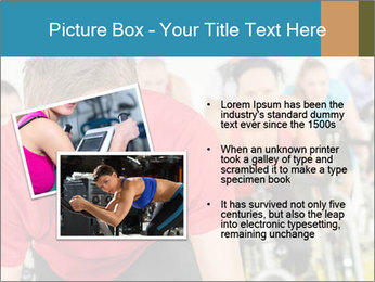 People in gym PowerPoint Templates - Slide 20