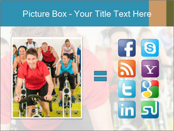 People in gym PowerPoint Templates - Slide 21