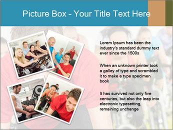 People in gym PowerPoint Templates - Slide 23