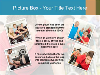 People in gym PowerPoint Templates - Slide 24