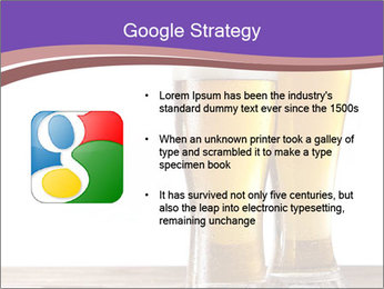 Two glasses of beers PowerPoint Template - Slide 10