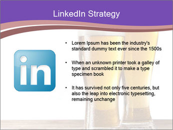 Two glasses of beers PowerPoint Template - Slide 12