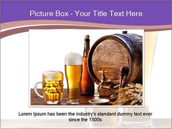 Two glasses of beers PowerPoint Template - Slide 15