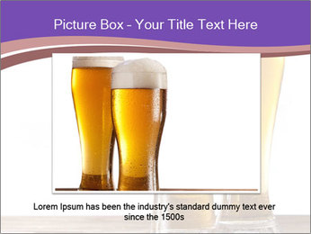Two glasses of beers PowerPoint Template - Slide 16