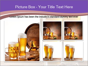 Two glasses of beers PowerPoint Template - Slide 19