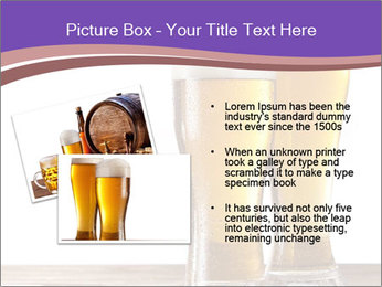 Two glasses of beers PowerPoint Templates - Slide 20