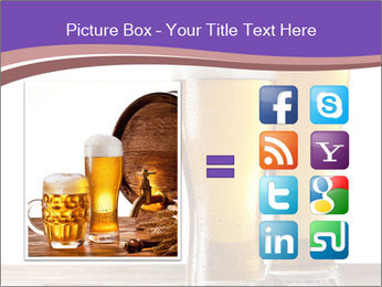 Two glasses of beers PowerPoint Template - Slide 21