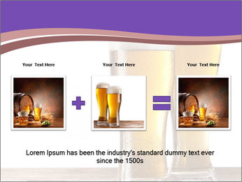 Two glasses of beers PowerPoint Template - Slide 22