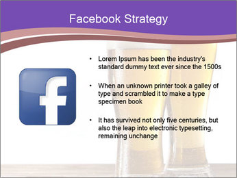 Two glasses of beers PowerPoint Template - Slide 6
