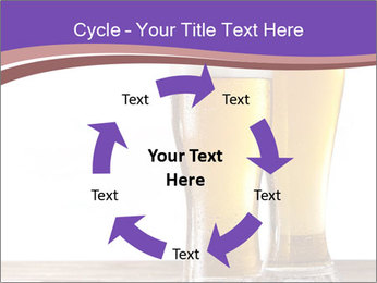 Two glasses of beers PowerPoint Templates - Slide 62