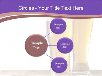 Two glasses of beers PowerPoint Templates - Slide 79