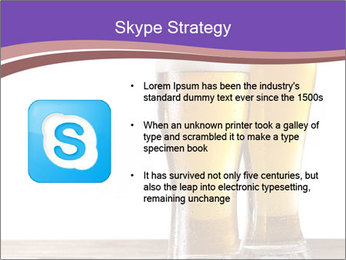 Two glasses of beers PowerPoint Template - Slide 8