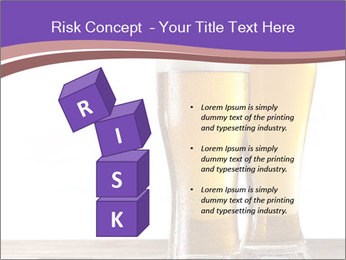 Two glasses of beers PowerPoint Template - Slide 81